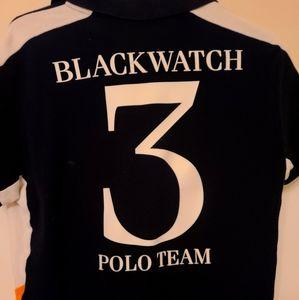 Blackwater Black Polo Medium